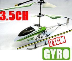New Model 21cm Mini Metal 3.5 CH RC Helicopter R/C Toy Airplane Radio Control Plane W/ Gyro+Charging USB+Flashlight (NHPL-4971 B)