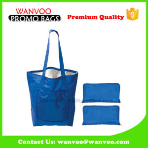 Blue Fashion Foldable Cooler Bag Made of Polyester pictures & photos