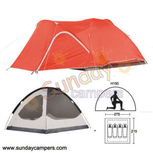 4 Person Mountaineering Tent for Family Camping pictures & photos