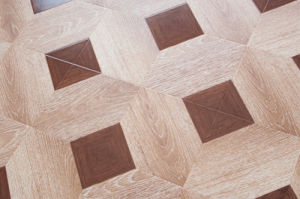 E1 Standard Laminated Parquet Flooring HDF --Lydl34 pictures & photos