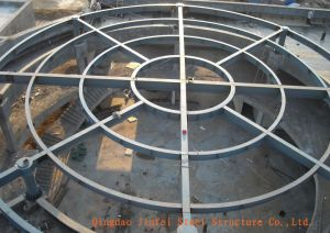 Round Roof Steel Structure for Supermarket