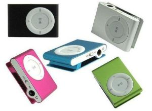 MP3 with Card Slot, Portable MP3 Player, MP3 Player with TF Slot