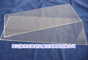 Clear Quartz Glass for Window Quartz Reflective Sheet Curved Quartz Glass pictures & photos