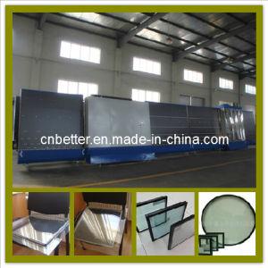 Full Automatic PLC Loe-E Double Glazing Glass Production Line / Double Glazed Glass Machine