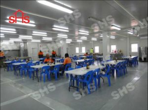 Container Temporary Mess/ Prefab Dining House/ Modular Cateen (shs-mh-kitchen002) pictures & photos