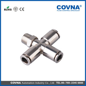 Jpxc Series -Stone Nipple Pneumatic Metal One Touch Fittings pictures & photos