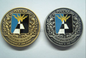 Imitation Hard Ename 3D Challenge Coin