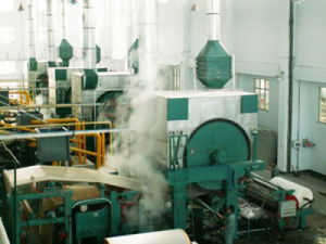 Papermaking Machinery: Spouting Cylinder Tissue Paper Machine pictures & photos