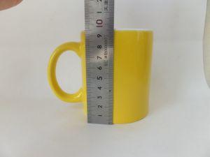11oz Color Glazed Ceramic Stoneware Tea Cup (WSY922M)