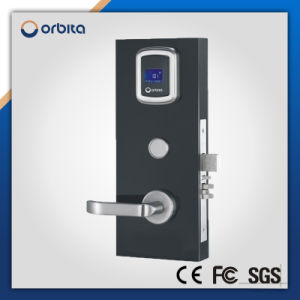 Digital RFID Keyless Handle Hotel Room Security Door Lock pictures & photos