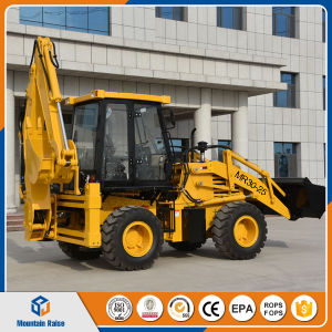 Hydraulic Wz30-25 Backhoe Loader with Low Price for Sale pictures & photos