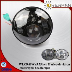 Wlcr 40W 5.75inch Harley-Davidson Motorcycle Hi/Low Beam LED Headlight pictures & photos
