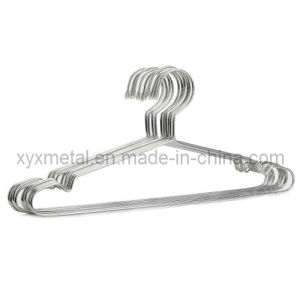 Stainless Steel Wire Cloth Suit Coat Garment Metal Rack Clothes Hanger pictures & photos