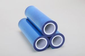 Co-Extrusion High Clearness Low Gel Coating Base PE Film for Light Industry pictures & photos