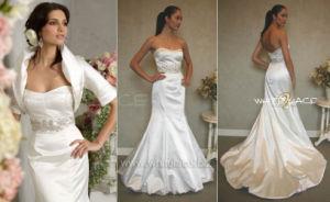 Strapless Wedding Dress (WDJH8961)