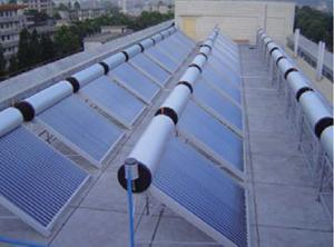 Solar Water Heater System Project pictures & photos
