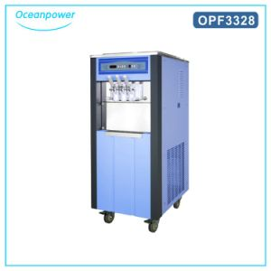 Op3328d Soft Serve Making Ice Cream Machines (Blue/Orange) in Promotion pictures & photos