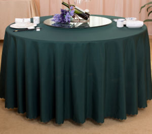 100% Linen Home Table Cloth / Hotel Tablecloth / Restaurant Tablecloth pictures & photos