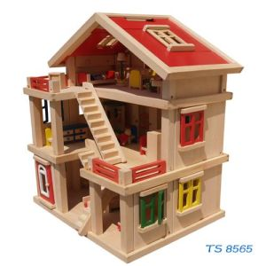 Wooden Doll House (TS 8565) pictures & photos