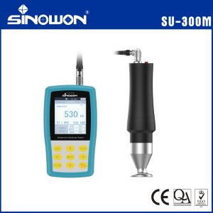 Portable Vickers Testing Machine Hardness Tester Ultrasonic (SU-300) pictures & photos