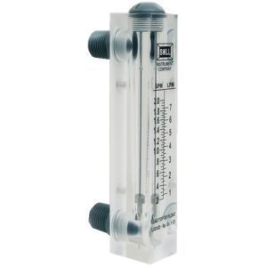 Lzm Series Acrylic Panel Type Flow Meter