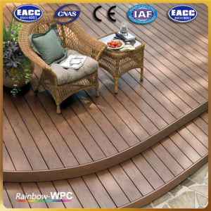 Wood Plastic Composite, Bathroom Solid WPC Flooring