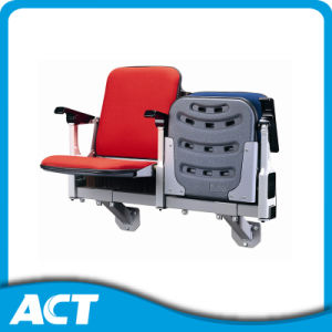 Wall Mounted Aluminum Bracket Fixed Upholstered Folding Stadium Chairs