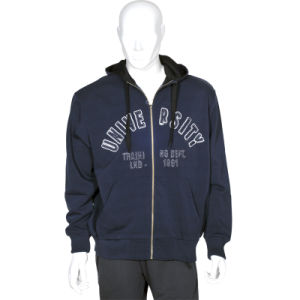 Custom Wholesle Men Hoodies Sweatshirts Fleece Jacket pictures & photos