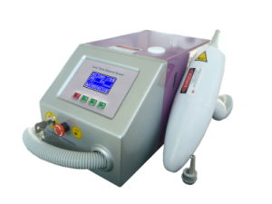 ND Q-Switched YAG Laser Tattoo Pigment Removal Equipment