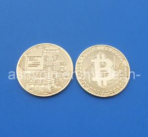 Copy Gift Gold Bitcoin, Custom Souvenir Coin pictures & photos