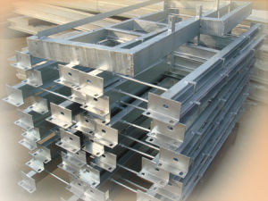 Hot Dipped Galvanized Steel Structure