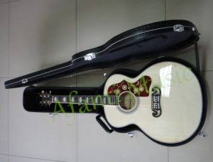 High Quality Spruce Top Acoustic Guitar with Hardcase (AGBJ200S) pictures & photos