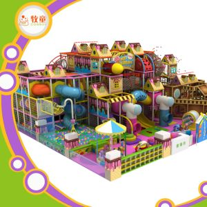 Indoor Fun Play Center for Children Entertainment Playground Center pictures & photos