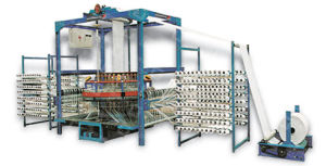 New-Type Four Shuttle Circular Weaving Machine