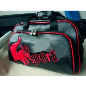 Black Boston Bag Sport PU Bag pictures & photos