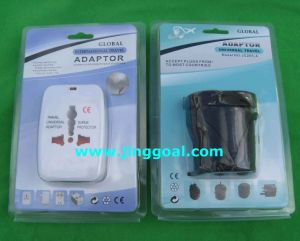 Blister Card Package Travel Adapter pictures & photos