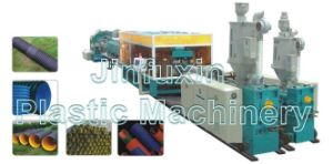 PE/ PP/ PVC Plastic Double Wall Corrugated Pipe Extrusion Machine (SJ-65/ SJ-80/ SJ-92) pictures & photos