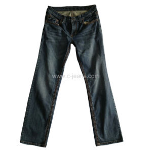 Men′s Classical Jeans 5 Pocket Denim Jeans