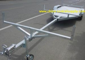 Wholesale Buy Factory Made Galvanized and Hydraulic 7.3m Pole Trailer (BCT0108AU) pictures & photos