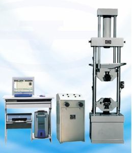 Hydraulic Universal Testing Machine WEW-100A pictures & photos