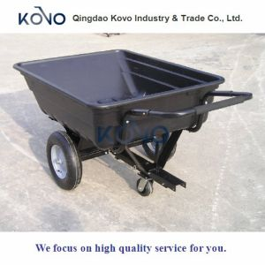 Plastic Dump Trailer Wagon Tc3080pl pictures & photos