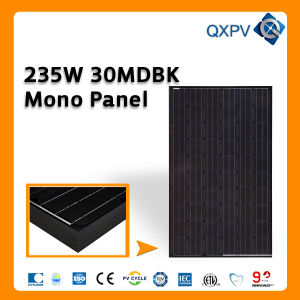 30V 235W Black Mono Solar Panel pictures & photos