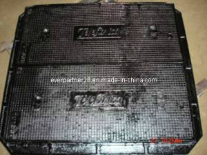Ductile Iron Casting Manhole Frame with 2 Covers, En124 B125 pictures & photos