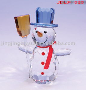 Crystal Christmas Craft with Higher Quality in China pictures & photos