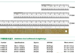 Cor-Backed Stainless Steel Ruler-02
