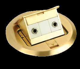 Floor TV Socket, Double TV Socket pictures & photos