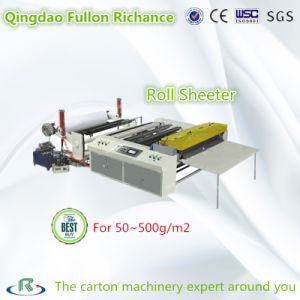 Carbon Less Paper Roll Sheeter & Cutting Slitting Machine pictures & photos