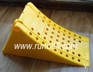 Plastic Heavy Duty Truck Wheel Chocks (TS195)