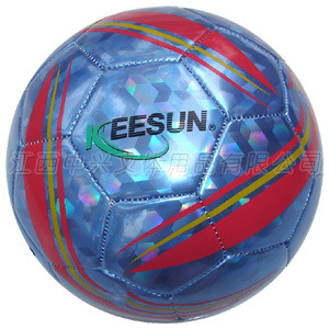 Machine Stitched Laser PVC Soccer Ball (SM5155) pictures & photos
