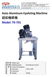 Auto Aluminum Eyeleting Machine pictures & photos